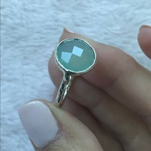 Gorgeous Sterling Chalcedony Ring